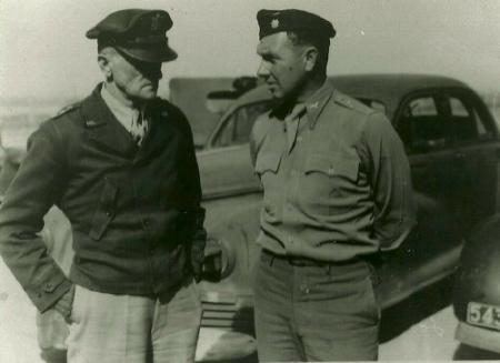 Lt. Gen. Spaatz and Lt. Col. Gormly in North Africa - Army Air Corps Library and Museum